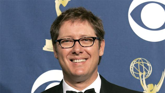 "James Spader, winner of Outstanding Lead Actor in a Drama Series for ""Boston Legal"" at The 57th Annual Primetime Emmy Awards."