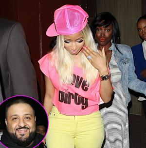 Nicki Minaj Steps Out With Giant Ring After DJ Khaled Video Proposal: Picture