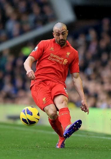 Jose Enrique, pictured, believes manager Brendan Rodgers reminds him of Spanish tacticians