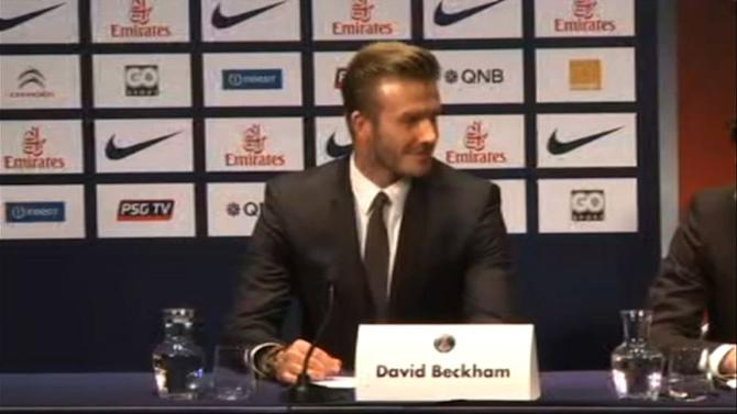 Beckham signs five-month deal with PSG