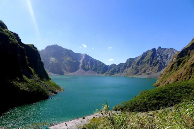 The majestic Mt. Pinatubo crater lake. (Photo courtesy of Joanna Frialde)