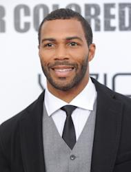 """FILE - This Oct. 25, 2010 file photo shows actor Omari Hardwick attending a special screening of """"For Colored Girls"""" at the Ziegfeld Theatre in New York. (AP Photo/Evan Agostini, file)"""