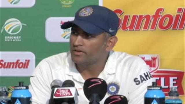 Cricket - Dhoni snubs media as India prepare for series decider