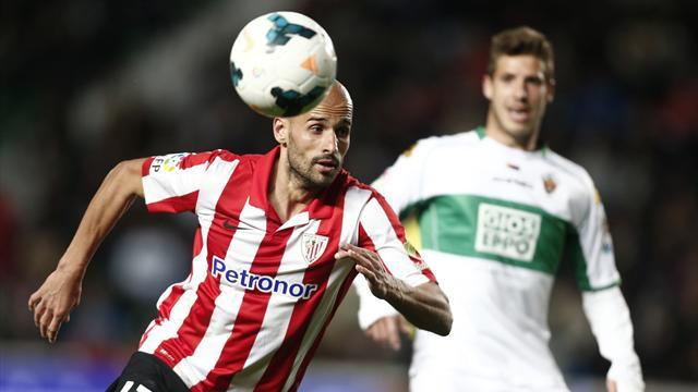 Liga - Athletic held by Elche