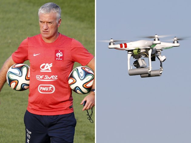 French call in FIFA to investigate drone snooping