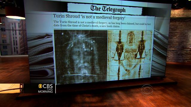 New book claims Shroud of Turin is the real thing