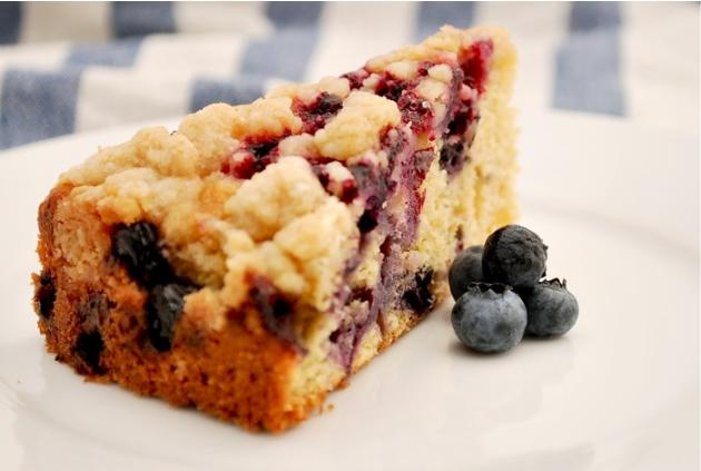 Blueberry Lime Buckle
