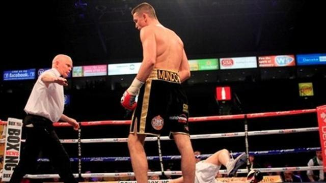 Boxing - Smith overjoyed with first-ever stoppage