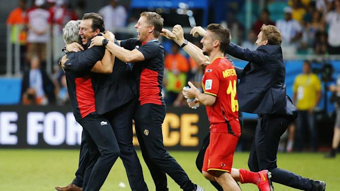 World Cup - Belgium deserved win after creating so many chances, says Wilmots