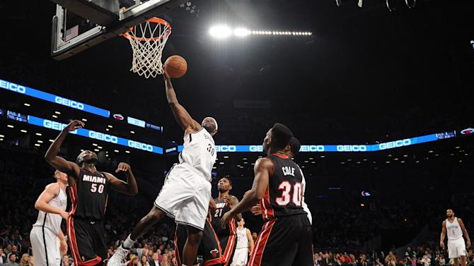 Miami Heat v Brooklyn Nets