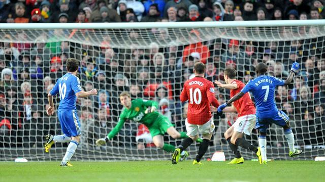 Football - De Gea thwarts Blues to set up replay