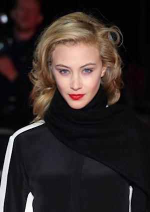 Sarah Gadon attends the premiere of 'Antiviral' during the 56th BFI London Film Festival at Odeon West End on October 13, 2012 in London -- Getty Premium