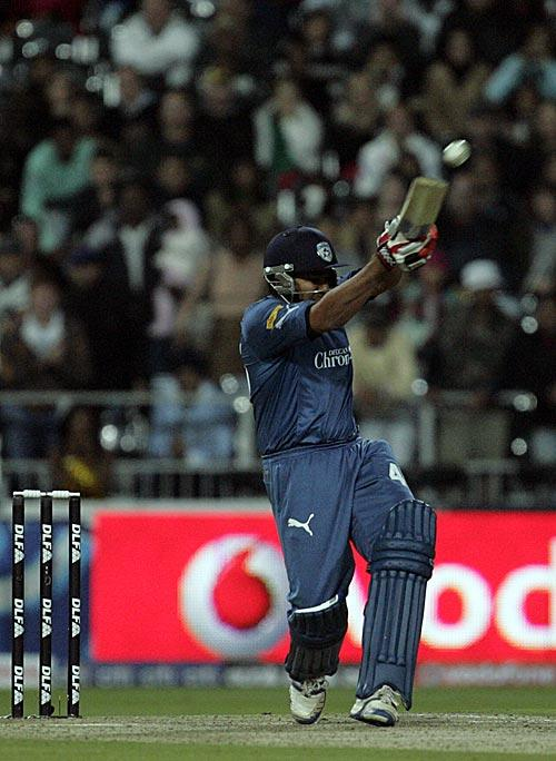 Rohit Sharma, Deccan Chargers, Six, Last Ball