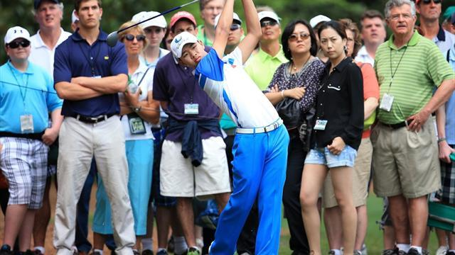 The Masters - Teenage prodigy Guan shines at Masters with 73