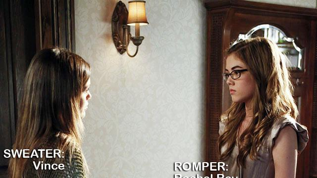 """Rachel Bilson as Dr. Zoe Hart and McKaley Miller as Rose Hattenbarger in the Season 1 episode """"The Undead & the Unsaid."""" Hart of Dixie"""