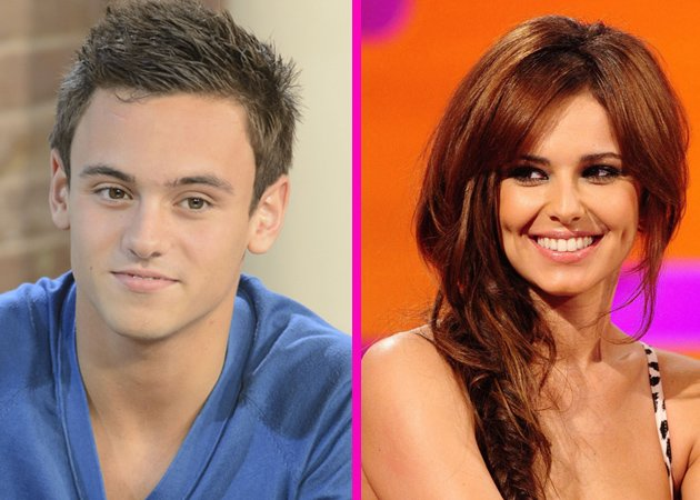 Cheryl Cole and Tom Daley