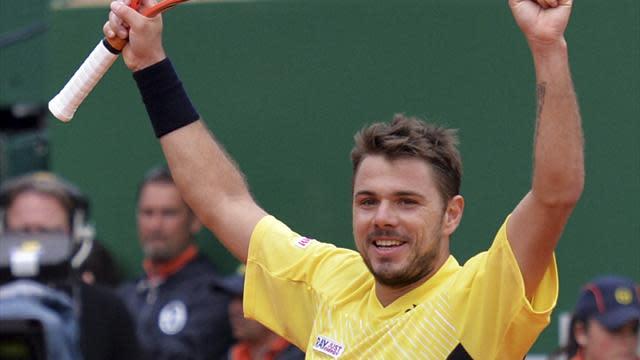 Tennis - Wawrinka downs Ferrer to reach Monte Carlo final