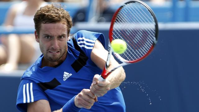 Tennis - Gulbis completes comeback to win in Russia