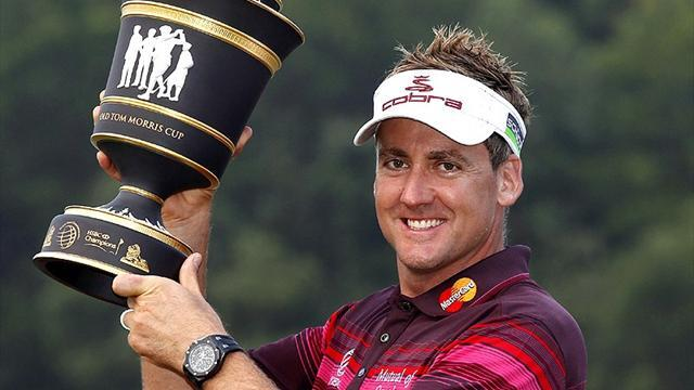 Golf - Poulter wins WGC Champions Tournament in China