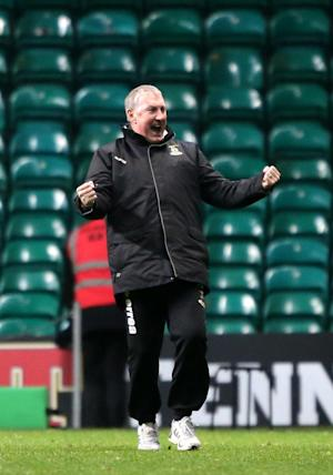 Terry Butcher is moving on after Inverness' first win at Celtic Park