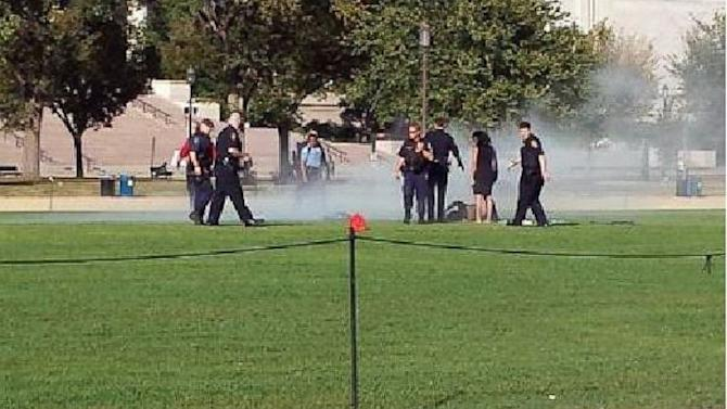 Man Set Himself on Fire on National Mall