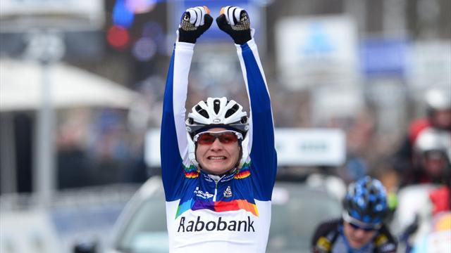 Cycling - Vos wins women's Ronde van Vlaanderen