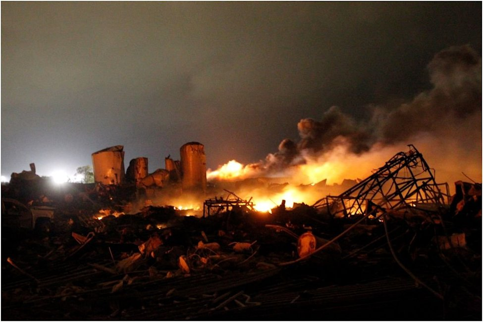 west texas fertilizer plant explosion