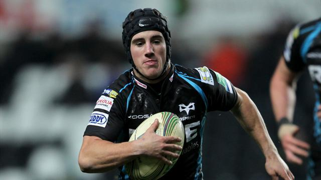 RaboDirect Pro12 - Morgan kicks Ospreys to victory