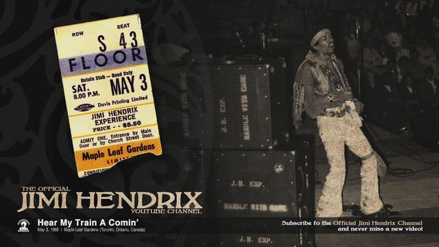 Jimi Hendrix - Hear My Train A Comin' - Toronto 1969