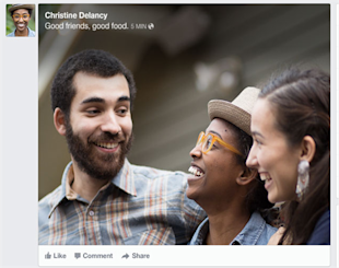 Facebook News Feed Redesign: What Marketers Need to Know image facebook newsfeed pictures after