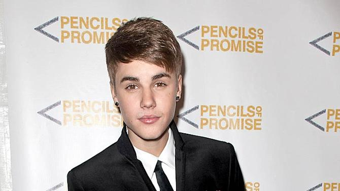 Justin Bieber Pencils Of Promise