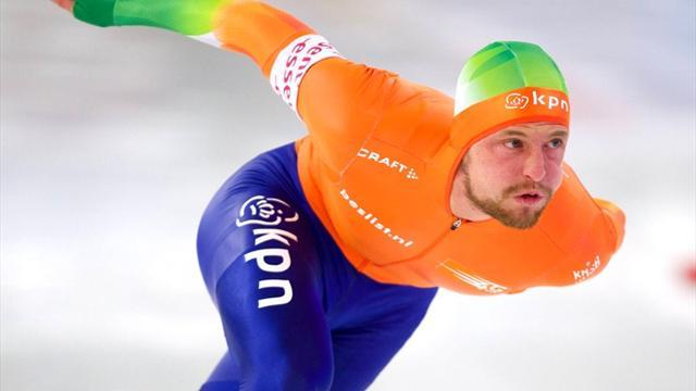 Speed Skating - Michel Mulder wins 500m Sochi Games gold