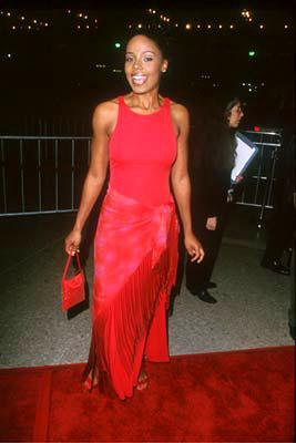 Premiere: Sanaa Lathan at the Century City premiere of Universal's The Best Man - 10/14/99