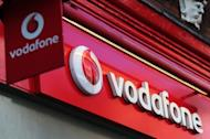 A Vodafone store in central London on May 22, 2012. The British government raised a less-than-expected amount from its 4G mobile auction that will result in five companies providing the country with super-fast mobile Internet services, a watchdog said Wednesday
