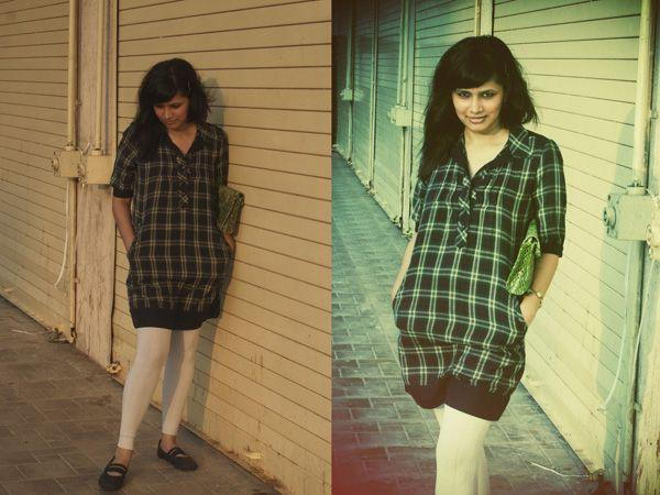 Images via : iDiva.comLeggings have been here for quite sometime. Team it up with a long plaid top. Source: StylePileRelated Articles - Trend Alert: 10 Ways to Rock TartanTrend Alert: Brighten Up Your