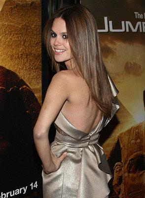Rachel Bilson at the New York City premiere of 20th Century Fox's  Jumper – 02/11/2008 Photo: Jason Kempin, WireImage.com