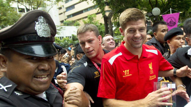 Thailand Liverpool Soccer