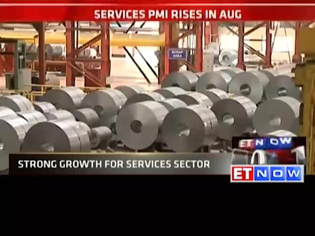 Services sector improves on new business orders: PMI