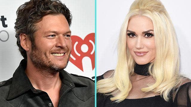 Blake Shelton Says He's 'Thankful' for His 'Stunning' Girlfriend Gwen Stefani