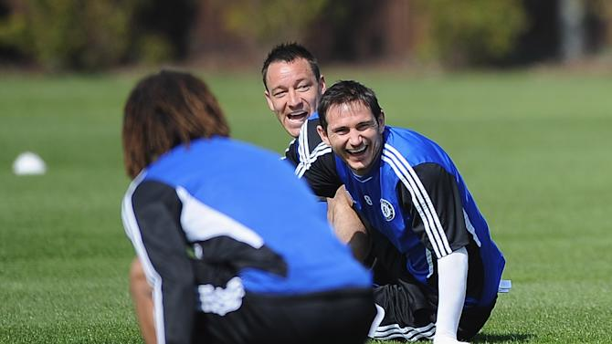 Chelsea Training & Press Conference