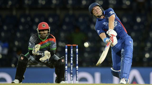 England thrash Afghanistan to reach World T20 last eight