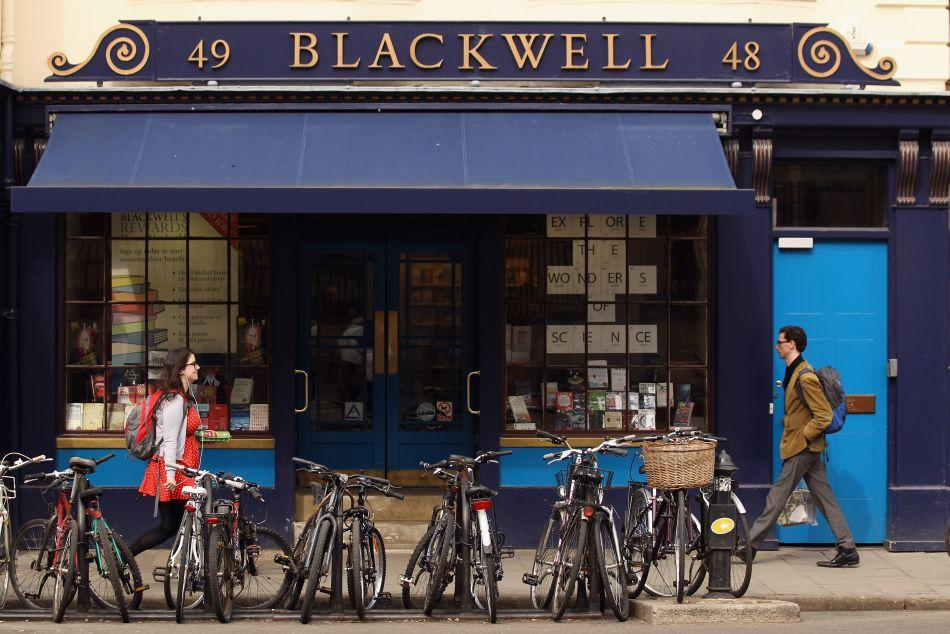 Blackwell bookshop on Broad Street