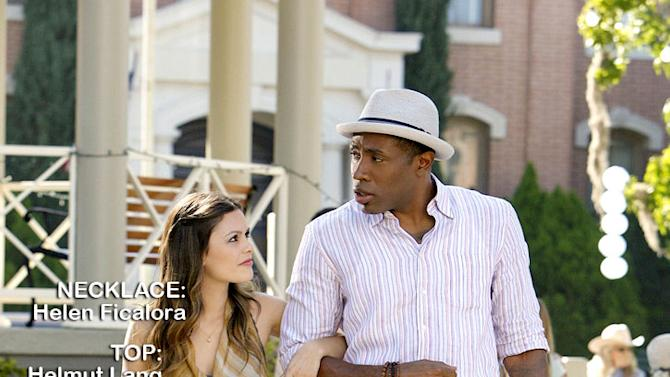 "Rachel Bilson as Dr. Zoe Hart and Cress Williams as Lavon Hayes in the Season 1 episode ""Faith & Infidelity."" Hart of Dixie"