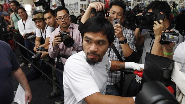 Boxing - Frankie's Flutters picks Pacquiao on points