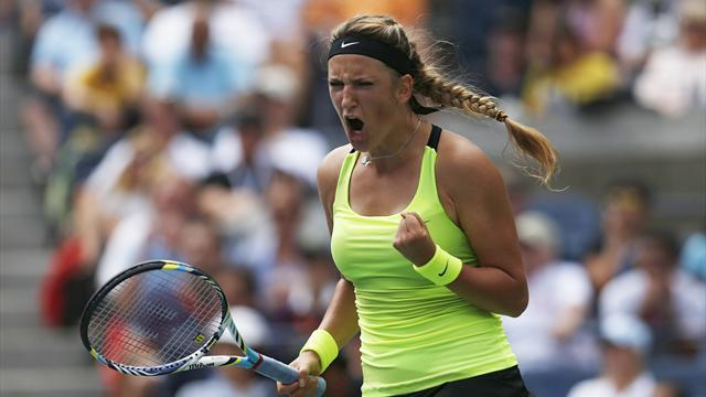 Azarenka outlasts Stosur in US Open classic