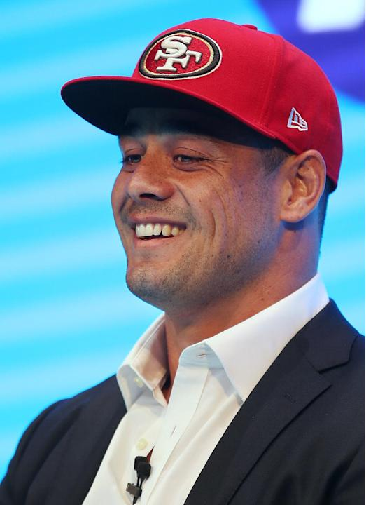 Australian rugby star Hayne signs 3-year deal with 49ers