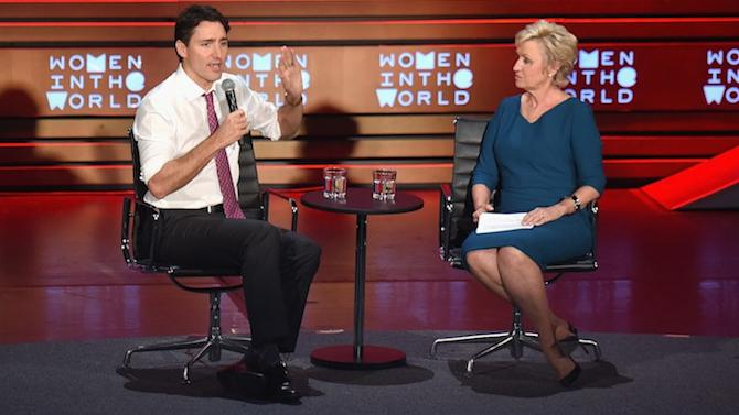 "Justin Trudeau on Promoting Women at Work: ""It's the Smartest Possible Thing to Do"""
