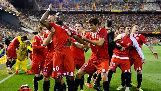 Europa League - Sevilla through to final after dramatic goal against Valencia