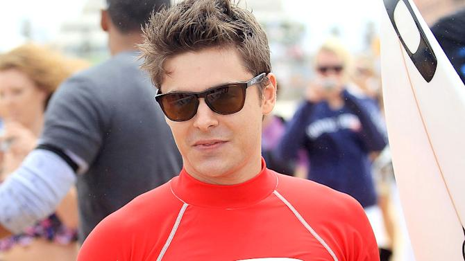 Efron Zac Surf Lessons