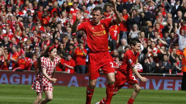 Premier League - Liverpool win in Carragher's swansong